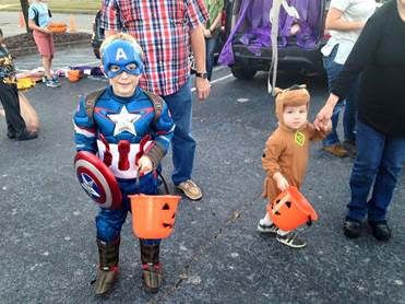 Woodlawn UMC, trunk or treat, halloween